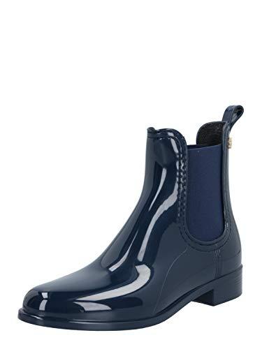 Lemon Jelly Damen Gummi-Boots Comfy 41 Blau Synthetik 38