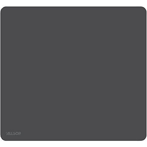 "Allsop 30200 Accutrack Slimline Mouse Pad, ExLarge, Graphite, 12 1/2"" x 11 1/2"""