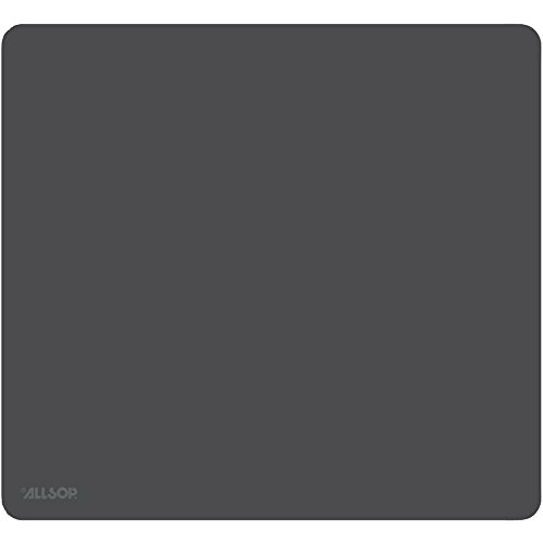 Allsop 30200 Accutrack Slimline Mouse Pad, ExLarge, Graphite, 12 1/2' x 11 1/2'