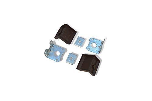 10x Schrankaufhänger Hängeschrank verstellbar für Oberschrank Wandhalterug Braun