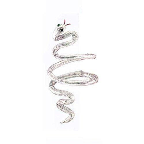 Plata Cleopatra de serpiente brazalete pulsera o diadema adulto niño disfraz de...