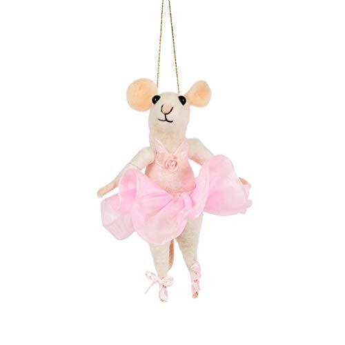Sass en Belle Ballerina muis voelde zich opknoping decoratie