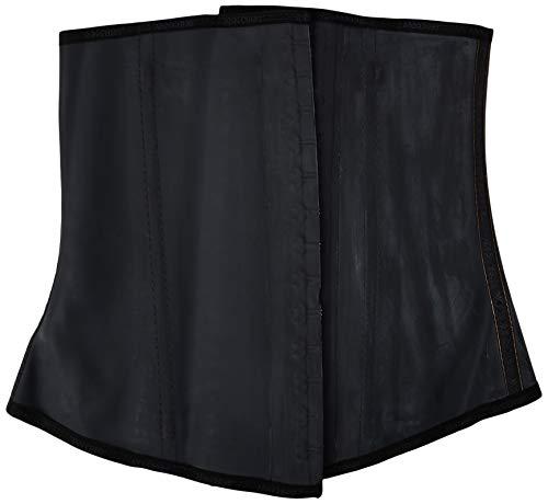 3X - Large // 42, Black Ann Chery Womens 2021 2 Hook Classic Black Latex