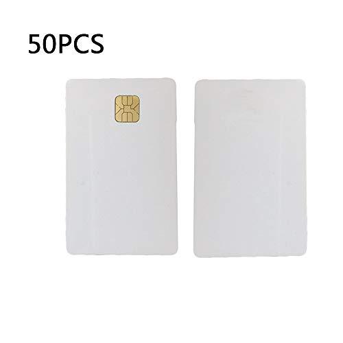 YIQing 50st Smart IC kaarten wit lege PVC FM 4428 chip contact IC kaarten