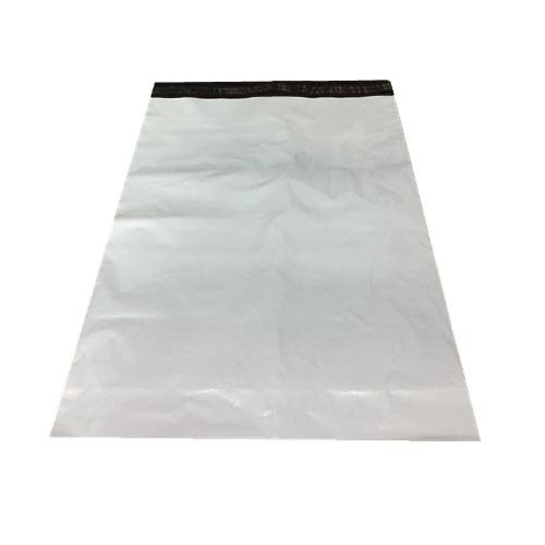 宅配袋 ビニール 業務用厚口 強力テープ付き 宅配用ビニール袋 大きい (50枚, 特大 (横60×縦81))