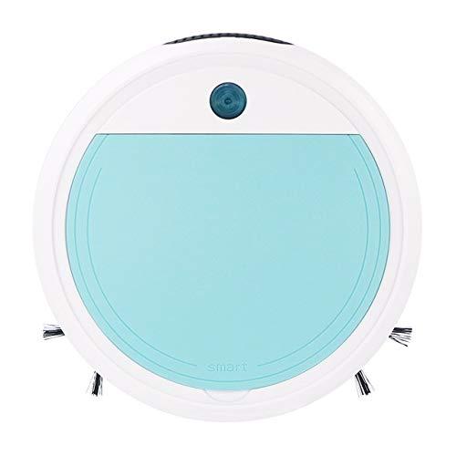 UG1 Roboter Vakuum, USB-Lade intelligente Kehrmaschine, UV-Sterilisation Ultra-geringen Rauschen großer Staubbox, Rosa/lila/blau,Blau