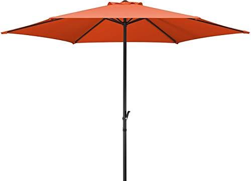 WYH Licht Sonnenschirm 2.5m Werbung Regenschirm Schatten im Freien Sonnenschirm Werbung Regenschirm Tragbar