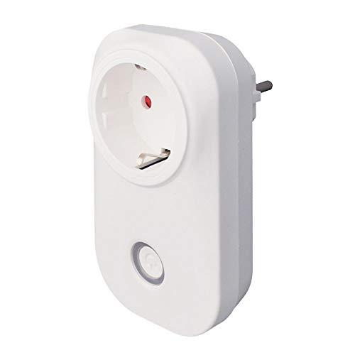 KKmoon eWelink Smart WiFi Socket Control Remoto de la UE por teléfono Inteligente Desde Cualquier Lugar Función de temporización, Control de Voz para Amazon Alexa y Google Home IFTTT
