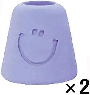 サンタン 珪藻土歯ブラシスタンド ブルー 1セット(2個:1個×2)