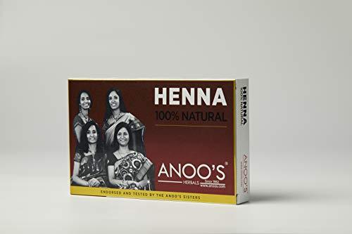 Anoos Herbal Henna 100 g Pack of 3