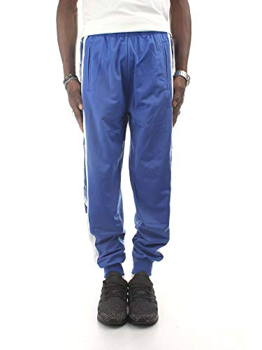 Kappa - Pantalones deportivos retro para hombre Azul azul real 34-37