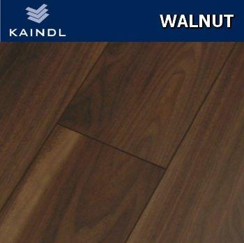 Kaindl Walnut Laminate Flooring 8mm V Groove 24m2 Wood Floor