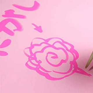木と字の神林 水書きグー 水で書いて練習できる半紙 1m×5m シートタイプ 1枚 桃