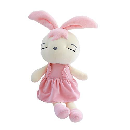 YOSIYO KUEUNBU Gefüllte Kissen Schlafen Spielzeug Cartoon-Kleid-Tierform Kissen Mädchen Weihnachten weiche Kissen
