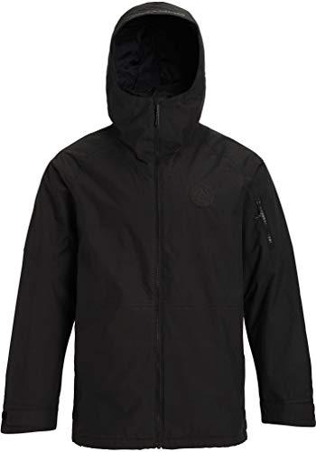Burton Mens Hilltop Jacket, True Black New, Large