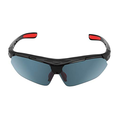 Kurphy - Gafas de ciclismo, unisex, para deportes al aire libre, UV400, color gris