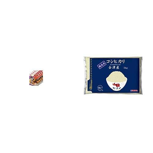 味の素 Cook Do きょうの大皿 豚バラなす用 100g×4個 +  【精米】[Amazon限定ブランド] 580.com 会津産 無洗米 コシヒカリ 5kg 令和元年産