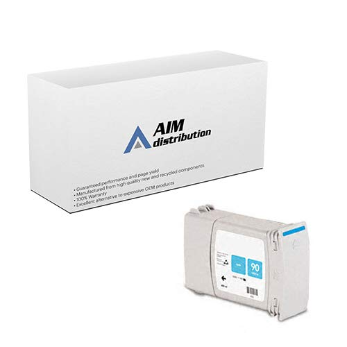 AIM Compatible Replacement for HP NO. 90 Cyan Inkjet (400 ML) (C5060A) - Generic