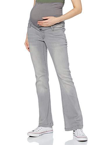 ESPRIT Pants Denim OTB Flared Jeans, Grey Denim/920, 36/32 Donna
