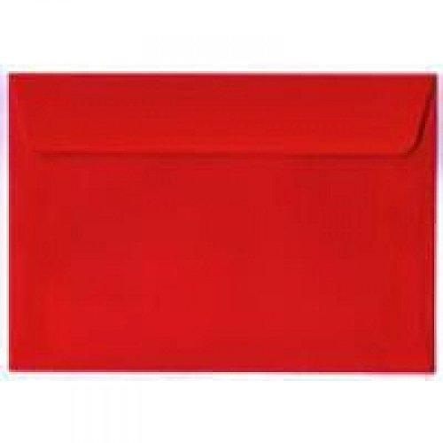 Blake Peel and Seal C6 120gsm Wallet Envelope - Pillar Box Red (Pack of 250)