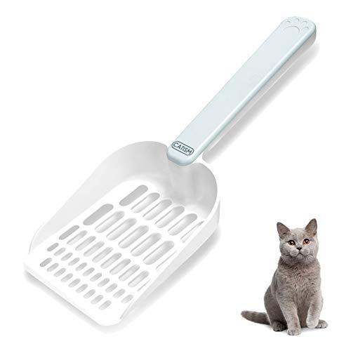 CATISM Streuschaufel Katzenstreu Magnetspeicher Schaufel für Katzenstreu Schaufel Katzenklo Schaufel Katzen Schaufel Katzenschaufel mit Langer Griff für Haustier Katzen Kätzchen