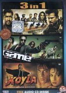 Tezz / Game / Koyla - 3 in 1 Dvd (100% Orginal Without Subtittle) [Dvd]