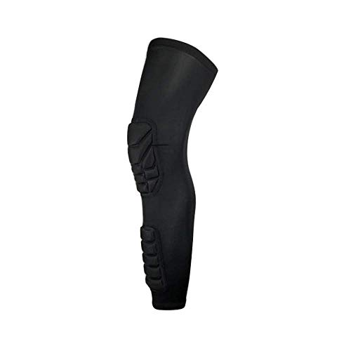 Hengyixing 1PCS Anti Collision Basketball Knee Pads Adult Kneecap Football Knee Brace Support Leg Sleeve Knee Protector Calf Compression-M