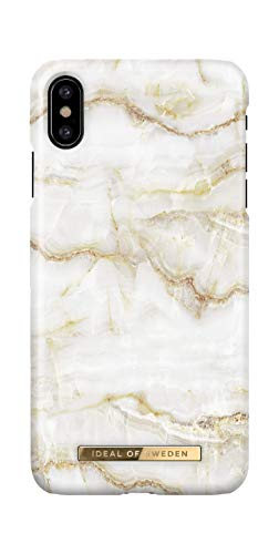 iDeal Of Sweden Handyhülle für iPhone X & XS (Golden Pearl Marble)