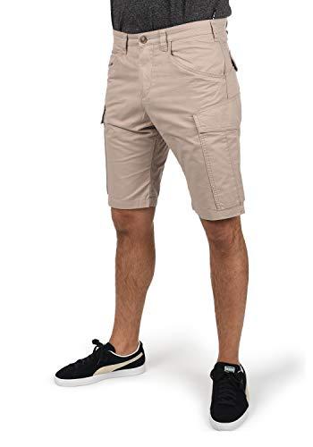 !Solid Herren Cargo Shorts Bermuda Kurze Hose 21103933, Größe:M, Farbe:Simple Tau (790162)