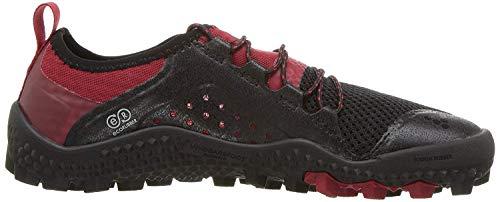 Vivobarefoot Women's Primus Lightweight Soft Ground Trail Running Shoe, Black, 35 D EU (5.5 US)