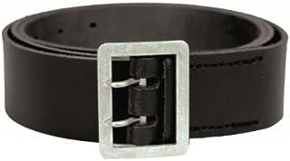 130 Mil-Tec Cinturone in Pelle con 2/Spina Nero Dimensioni