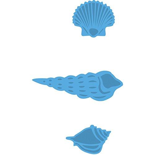 Marianne Design Creatables Troqueles con diseño Conchas de Mar, Metal, Azul, 2,3 x 2,1 x 0,4 cm