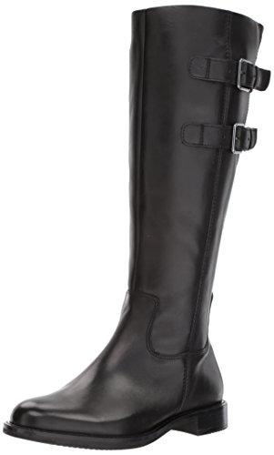 ECCO Damen Shape 25 Tall Buckle Boot Hohe Stiefel, Schwarz (Black 1001), 40 EU