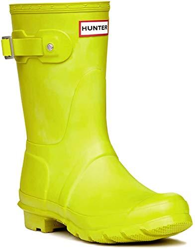 Hunter - Botas de agua para mujer, Amarillo (Amarillo (Yellow Chartreuse)), 35 EU