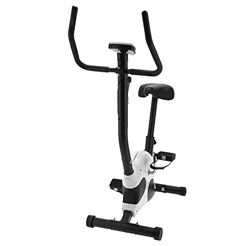 Ausla Bicicleta de Interior Bicicleta estática, Bicicleta estática silenciosa, Bicicleta Fitness, Bicicleta Fitness aeróbica, Sillín Ajustable, Capacidad máxima: 120 kg 113 x 91 x 40 cm