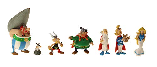 Plastoy -Asterix-Village Tube 7 Figurines 2