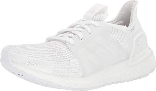 adidas Women's Ultraboost 19 Running Shoe, White/Grey/Black, 9.5 UK