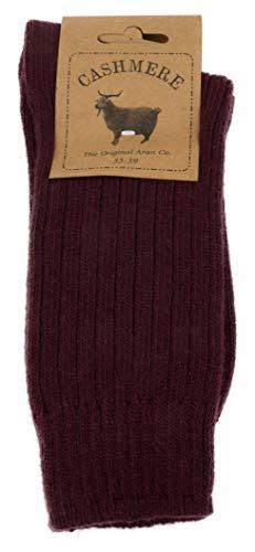 Cashmere Blend Women's Socks (Bordo)