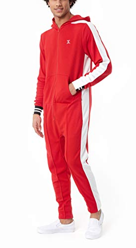 OnePiece Damen Jumpsuit Unisex Rider Retro, Rot (Red) Small - 4