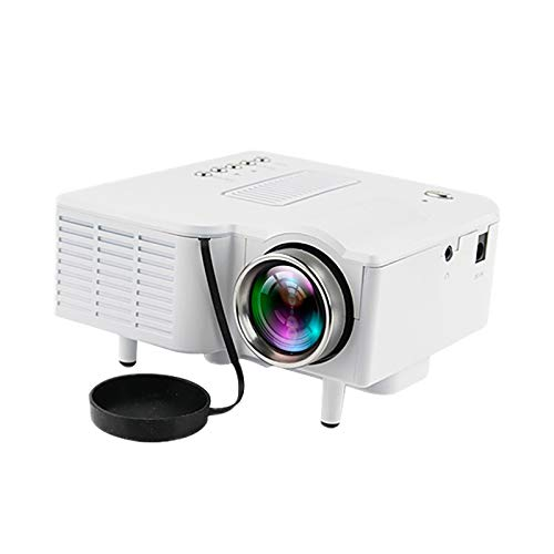 Projector, Outdoor Movie Projector, Full HD Video Projector with Image Display, LED Home Theater Projector Compatible with TV Stick, Laptop