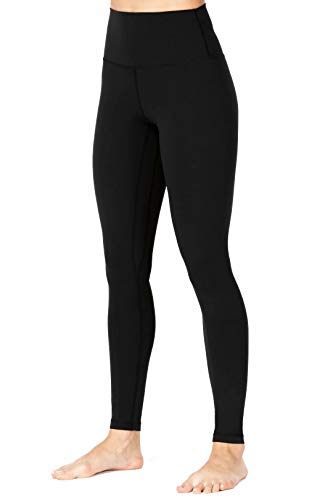 Sunzel Workout Leggings for Women, Squat Proof High Waisted Yoga Pants 4 Way Stretch, Buttery Soft Black