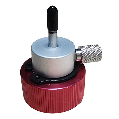 Nicoone Adaptador de relleno de propano para airsoft, compacto y ligero, convertidor de relleno de propano para estilo de camping estándar