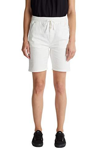edc by Esprit Damen 040CC1C315 Shorts, 100/WHITE, 36