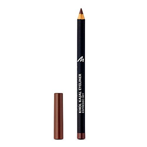 Manhattan Khol Kajal Eyeliner – Brauner Kohle-Kajalstift für Smokey Eyes und eine perfekt umrandete Augenkontur – Farbe Espresso 95Y – 1 x 1,3g