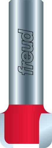 Freud 85-056 - Broca fresadora para tabla de drenaje de 1 pulgada de diámetro por 1/2 pulgada de altura con vástago de 1/2 pulgada