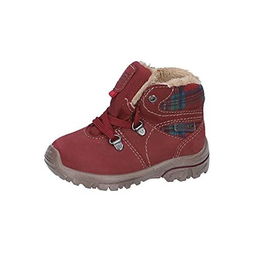 RICOSTA Mädchen Boots DESSE von Pepino, Weite: Weit (WMS),Sympatex,gefüttert,wasserdicht,Winterboots,warm,Kids,Barolo (374),23 EU / 6 Child UK