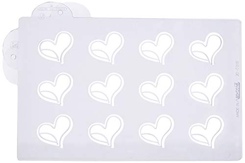 Martellato Choco Funny Moule à cœur, Clair, 43 x 40 mm
