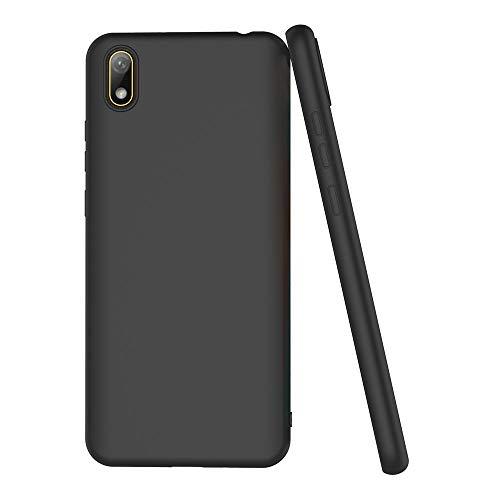 AICEK Compatible Huawei Y5 2019 Hülle, Schwarz Silikon Schutzhülle für Huawei Y5 2019 Case TPU Bumper Huawei Y5 2019 Handyhülle (5,71 Zoll) - 4