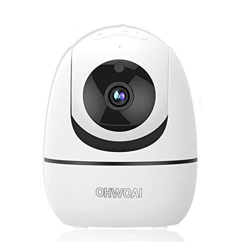 professional Baby monitor with camera and audio, 1080P night vision, indoor wireless surveillance camera, home …