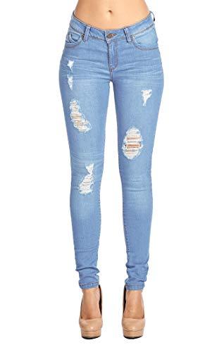 Blue Age Women's Butt-Lifting Skinny Jeans (11, JP1034_LTWASH)